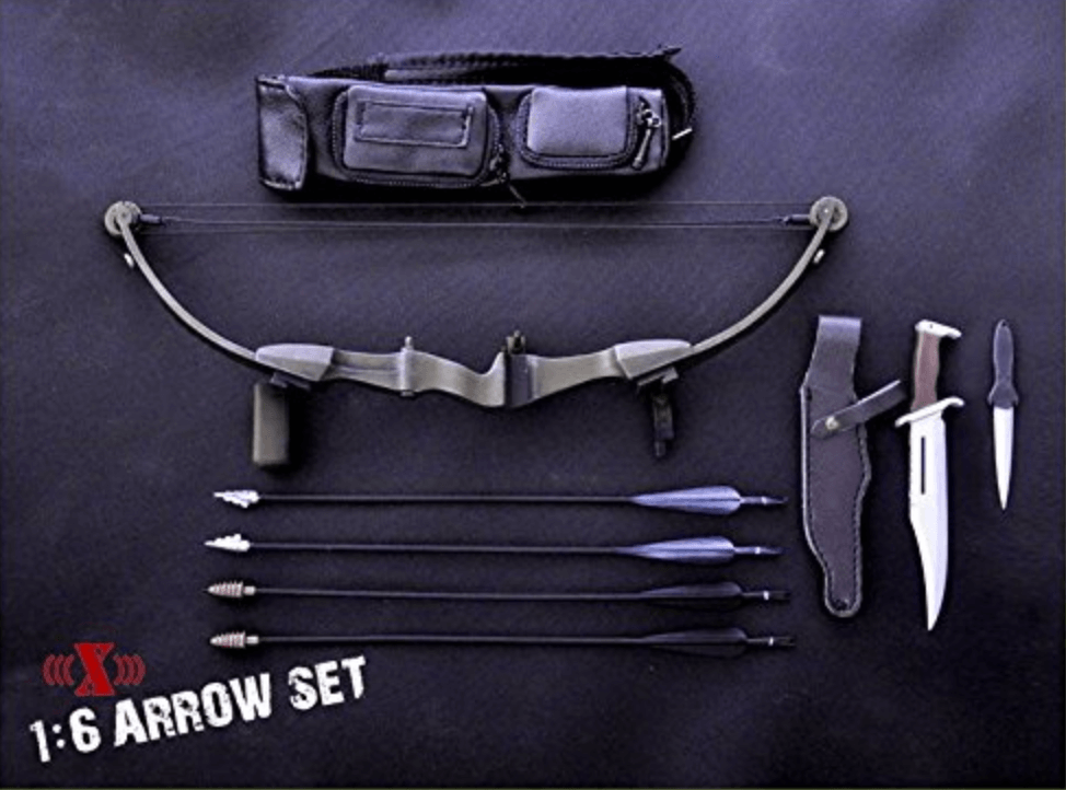 John Rambo Bow + Knife