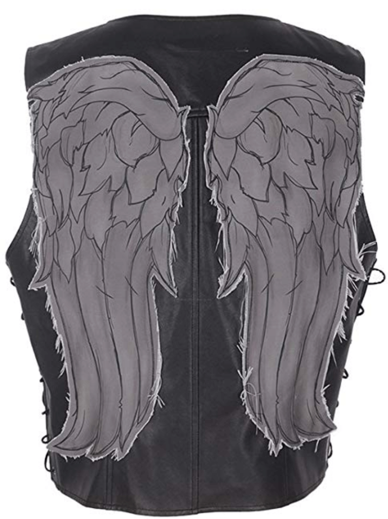 Men's Daryl Dixon Vest Costume