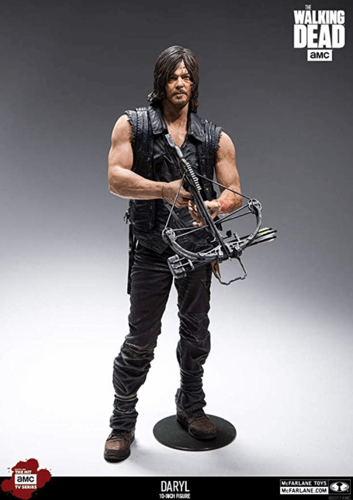 The Walking Dead 10-inch Daryl Dixon Deluxe Figure